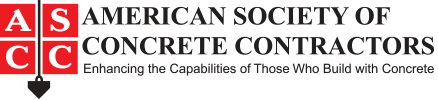 American Society of Concrete Contractors Logo